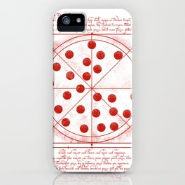 da vinci's pizza  iPhone Case