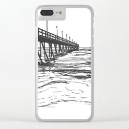 At the Pier Clear iPhone Case