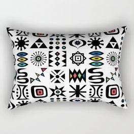 flash forward Rectangular Pillow