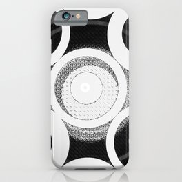 Circle Abstract iPhone Case
