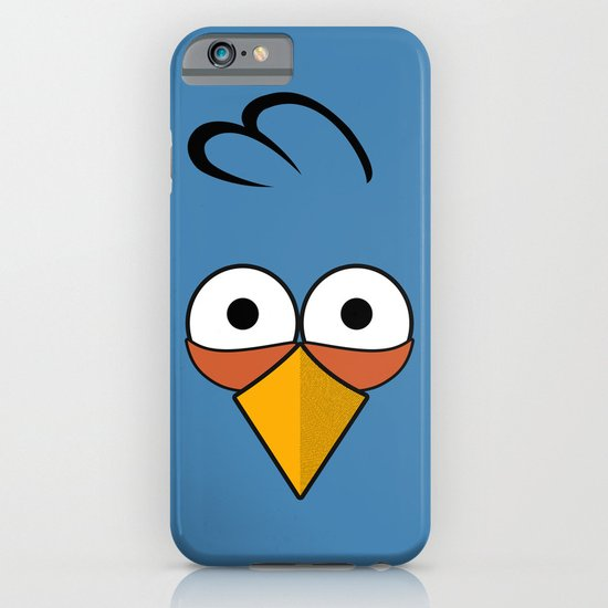 Blue and Angry iPhone & iPod Case