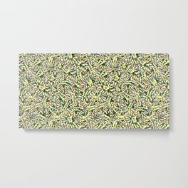 Military Flower Metal Print