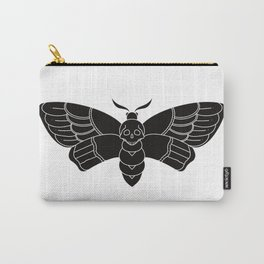 Death's Head Moth Traditional Tattoo Carry-All Pouch