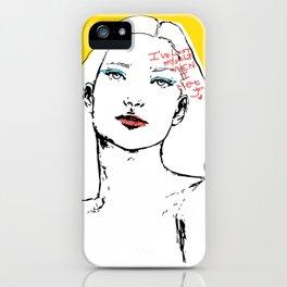 Lost myself iPhone Case