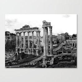 Roman Forum Canvas Print