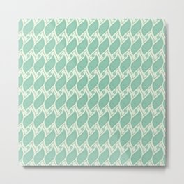 Background abstract green pattern 5, vector, texture design. Metal Print
