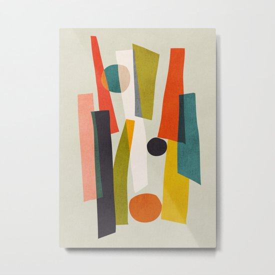 Sticks and Stones Metal Print