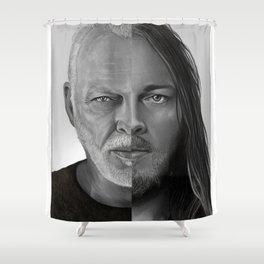 David Gilmour Shower Curtain