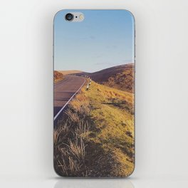 Mountain Road, TT Isle of Man. iPhone Skin