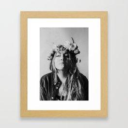 Boho Smoke Framed Art Print