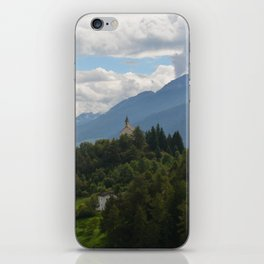A glimpse through the forest iPhone Skin