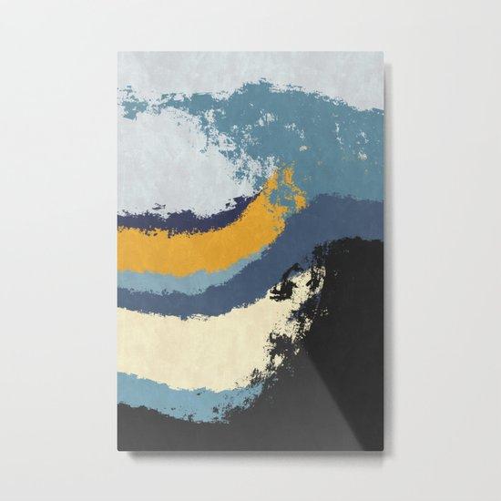 Waves - No Obstacle Metal Print