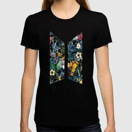 Flowers BTS Logo T-shirt