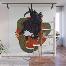 Eagle Vs Snake Wall Mural