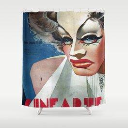 CineArte 1936 Joan Crawford Shower Curtain