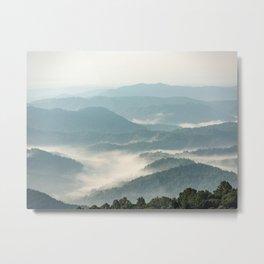 Blue Ridge Parkway - Shenandoah National Park Metal Print