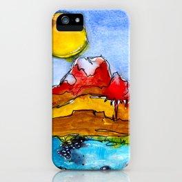 Landscape November 23 iPhone Case