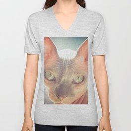 Floyd The Cat Unisex V-Neck