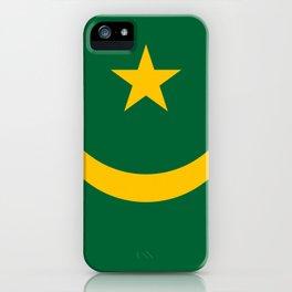 Maritania Flag iPhone Case