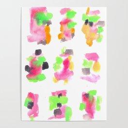 160122 Summer Sydney 2015-16 Watercolor #85 Poster