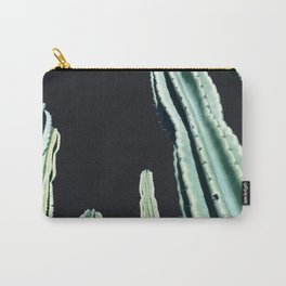 Green Cactus 8 at Night Carry-All Pouch