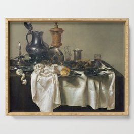 Willem Claesz Heda Banquet Piece with Mince Pie Serving Tray