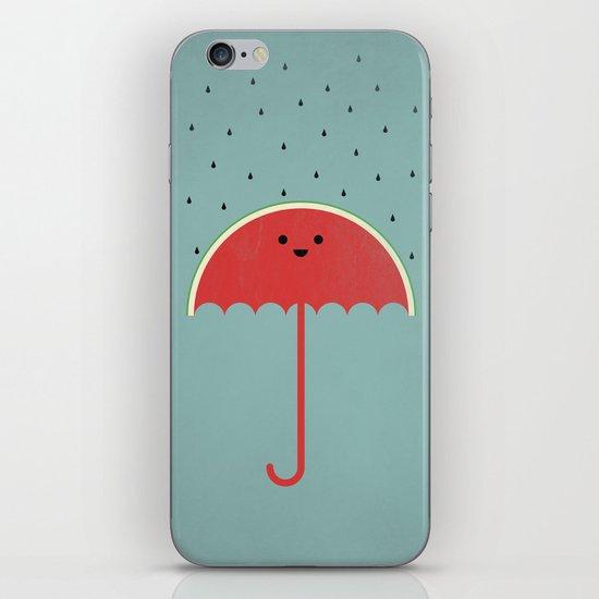 Watermelon Umbrella iPhone & iPod Skin