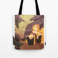 Desert Mermaid Tote Bag