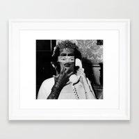 rocky horror Framed Art Prints featuring Rocky Horror Queen by Marko Köppe