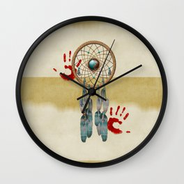 Catching Spirit Native American Wall Clock