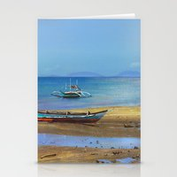 philippines Stationery Cards featuring Philippines beach by Maria Zborovska