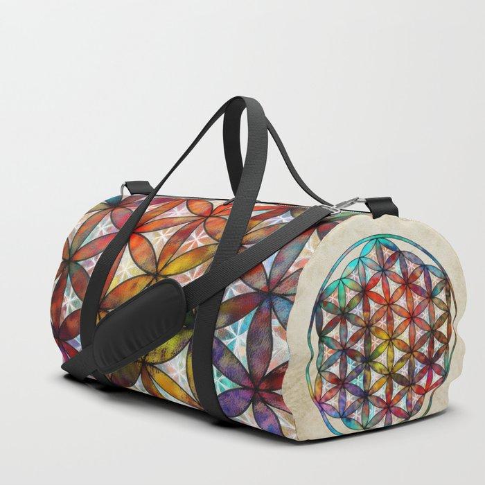 Flower of Life Duffle Bag