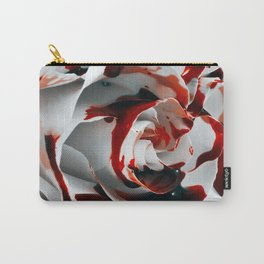 Paining a Rose Red Carry-All Pouch