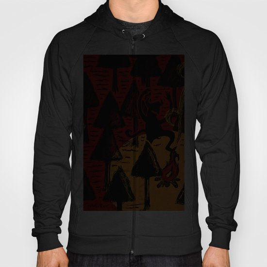 the dancing monster in the woods Hoody