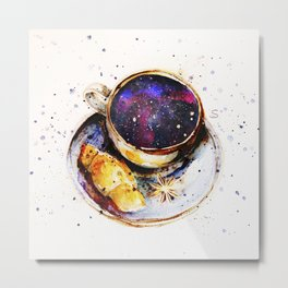 A cup of space Metal Print