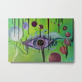"""Unified Vision Theory"" Metal Print"