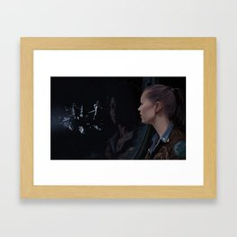 awaiting Framed Art Print