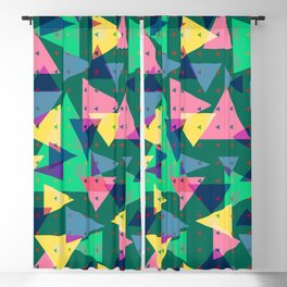 Triangles, my favorite geometric shapes Blackout Curtain