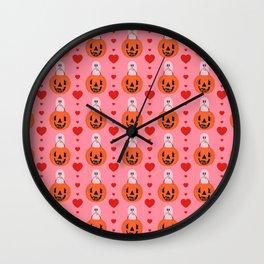 I Love You, Boo! Wall Clock