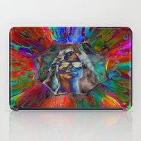 hippy iPad Cases featuring Hippy Girl by PerfectImperfections