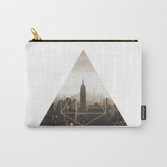 Empire State Building - Geometric Photography Carry-All Pouch