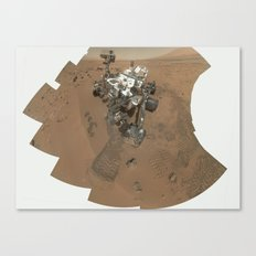 NASA Mars Curiosity's 'Rocknest' Workplace High definition Print Canvas Print
