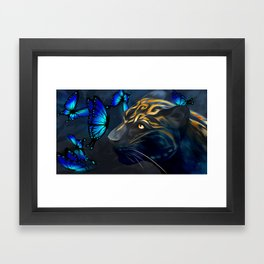 Beautiful Beast Framed Art Print