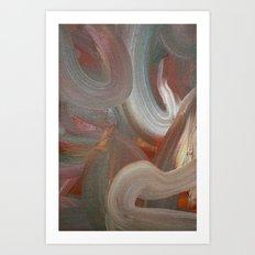 Earth's Aura Art Print