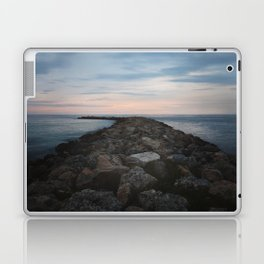 The Jetty at Sunset - Vertical Laptop & iPad Skin