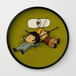 mutual love Wall Clock