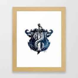 League of Legends BILGEWATER CREST Framed Art Print