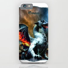 Smaug The Dragon (Titled Art Print) iPhone 6s Slim Case