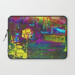 """Otherworld Citrus Rose"" by surrealpete Laptop Sleeve"