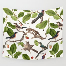 Birdies Wall Tapestry